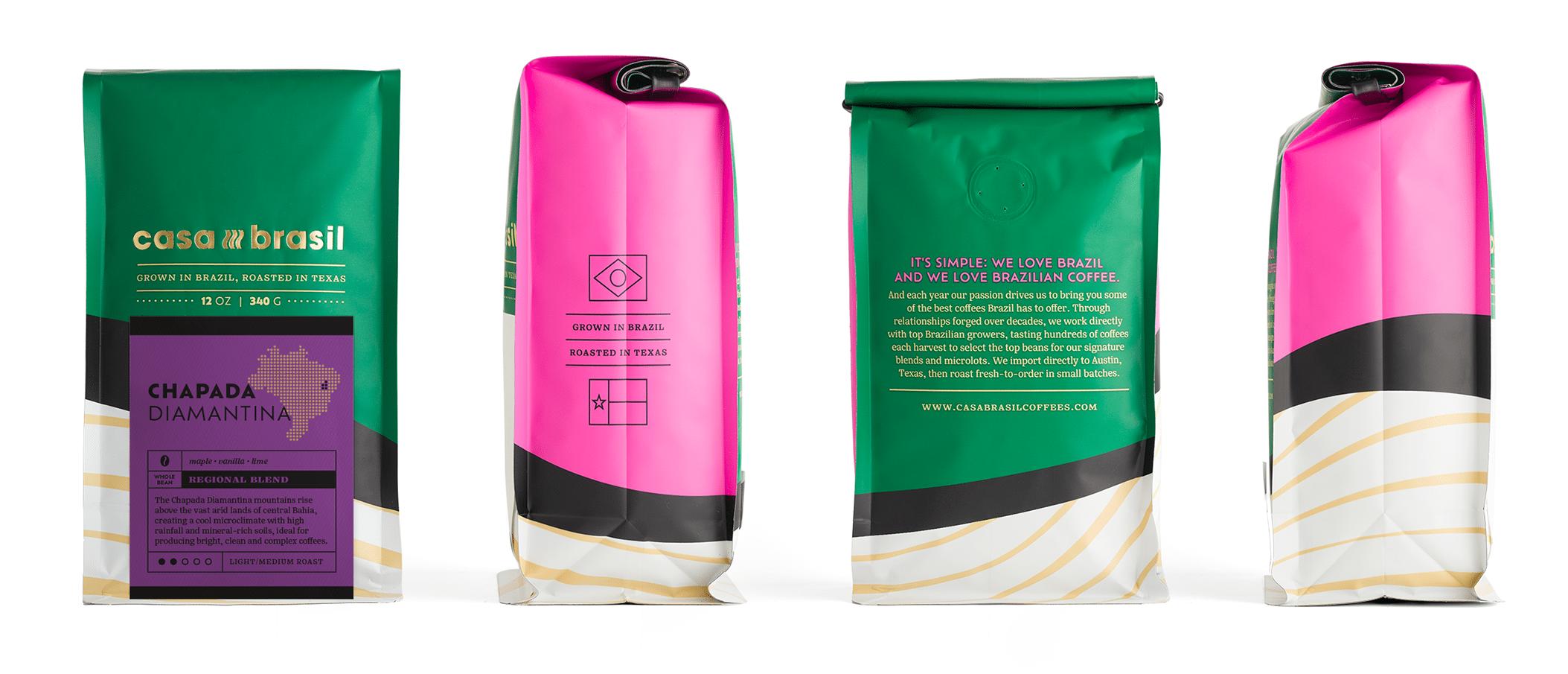 Embalagem Casa Brasil Coffees